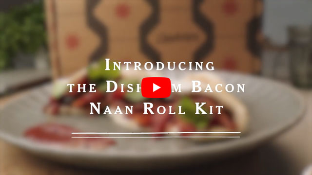 YouTube video for Bacon Naan Roll Kit