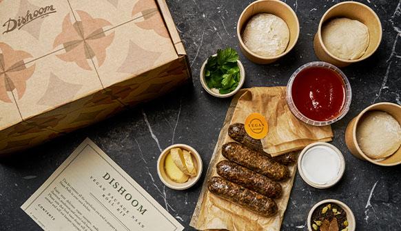 Vegan Sausage Naan Roll Kit