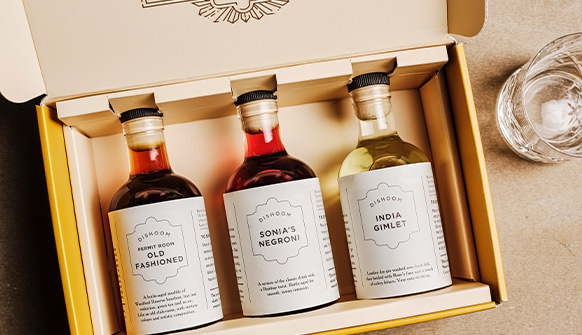 Dishoom Permit Room Cocktails Collection in Box