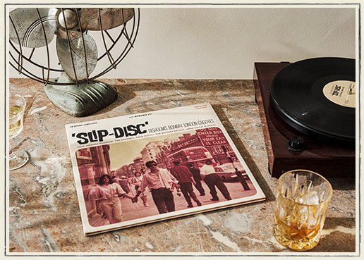 Slip-Disc Vinyl LP